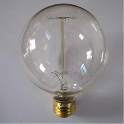 ampoule globe g125 filaments droits promo lampes et ampoules design et vintage de decoration. Black Bedroom Furniture Sets. Home Design Ideas